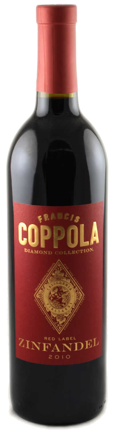 francis ford coppola zinfandel red label diamond. Black Bedroom Furniture Sets. Home Design Ideas