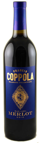 francis ford coppola merlot blue label diamond collection. Black Bedroom Furniture Sets. Home Design Ideas
